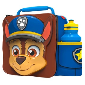 Paw Patrol 3D Lunch Bag with Bottle Set