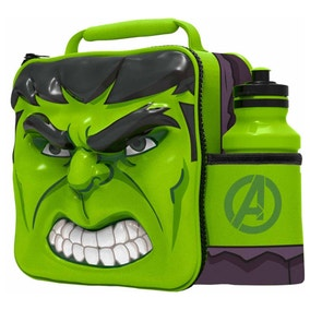 Hulk 3D Lunch Bag with Bottle Set