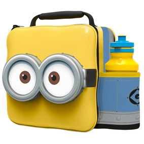 Universal Minions 3D Lunchbag with Bottle Set