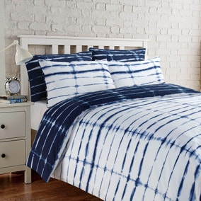 Dakota Navy Duvet Cover Set