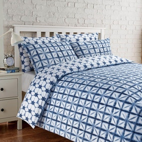 Izel Navy Duvet Cover Set