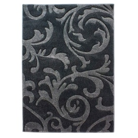 Charcoal Reflection Rug