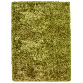 Lime Indulgence Shaggy Rug