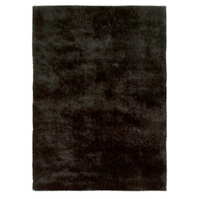 Black Indulgence Shaggy Rug