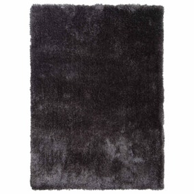 Charcoal Indulgence Shaggy Rug