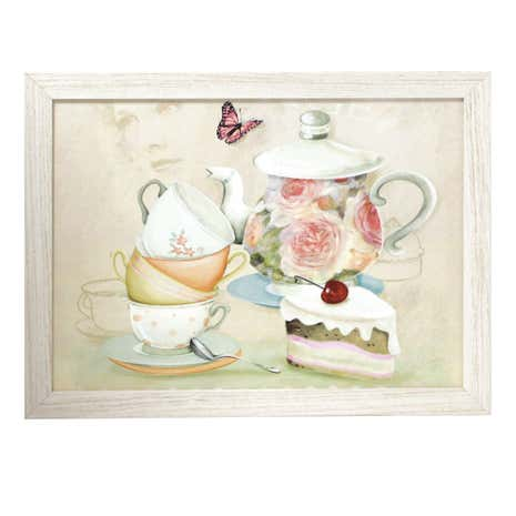 Vintage Tea Party Lap Tray