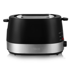 Tower Black 2 Slice Toaster