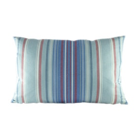Large Coastal Beach Stripe Cushion