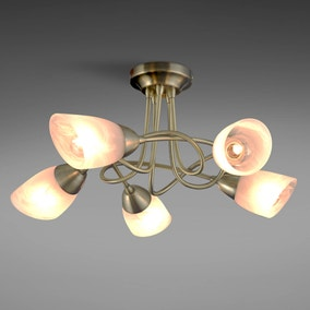 Amalfi 5 Light Ceiling Fitting