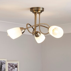 Amalifi 3 Light Ceiling Fitting