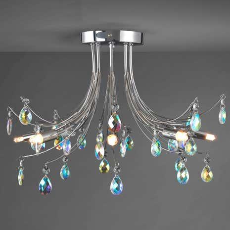 Bathroom Lights Dunelm atrani ceiling light | dunelm