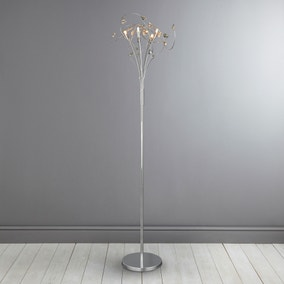 Rovello Clear 5 Light Floor Lamp