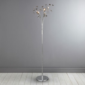 Rovello Smoke 5 Light Floor Lamp