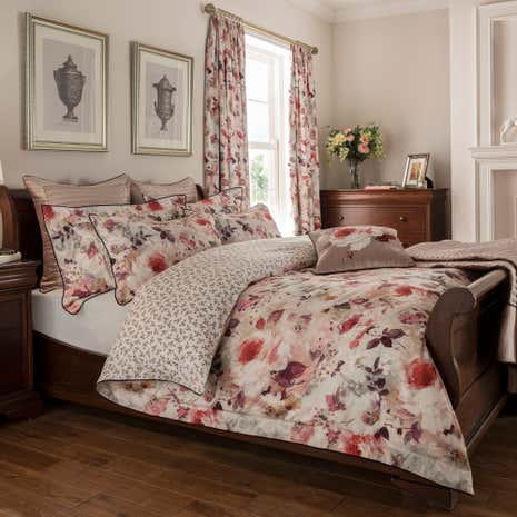 dorma sophia 100 cotton duvet cover dunelm. Black Bedroom Furniture Sets. Home Design Ideas