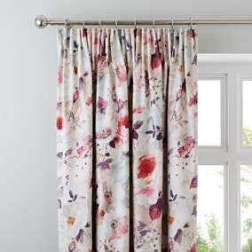Dorma Sophia Blackout Pencil Pleat Curtains
