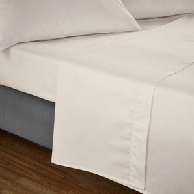 Fogarty Soft Touch Natural Flat Sheet