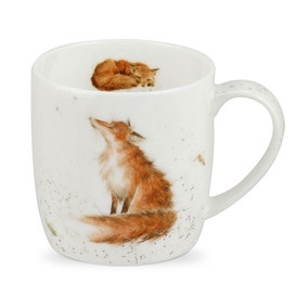 Royal Worcester Wrendale The Artful Poacher Mug