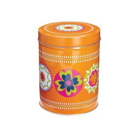 Cooksmart Suzani Orange Canister