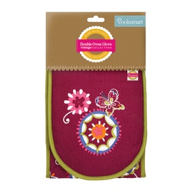 Cooksmart Suzani Double Oven Glove