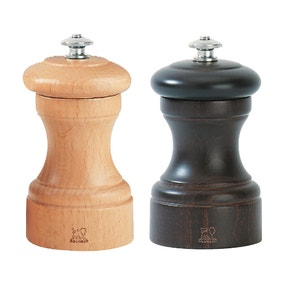 Peugeot Bistro Chocolate and Natural Salt and Pepper Mill Set