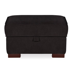 Newport Faux Leather Footstool