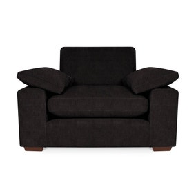 Stamford Faux Leather Snuggle Chair