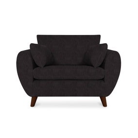 Hoxton Faux Leather Snuggle Chair