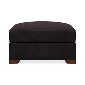 Grosvenor Faux Leather Footstool