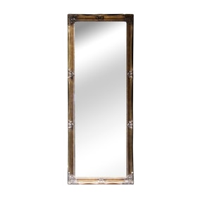 Dorma Leaning Swept Bevelled Mirror