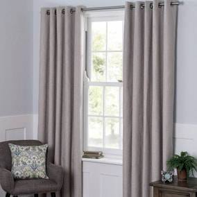 Boucle Natural Blackout Curtains