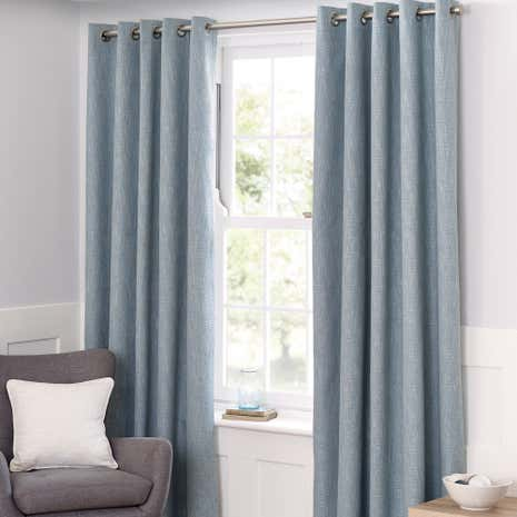 Curtains Ideas charcoal and cream curtains : Eyelet Curtains | Ready Made Eyelet Curtains | Dunelm