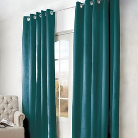 Arizona Teal Blackout Curtains