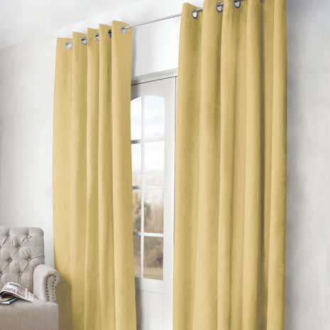 arizona ochre blackout curtains