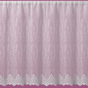 voile net curtains panels lace dunelm