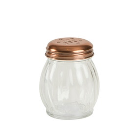 T&G Glass Seasoning Shaker with Copper Lid
