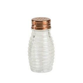 T&G Beehive Salt and Pepper Shaker with Copper Lid