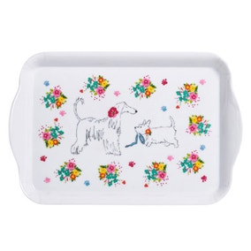 Dapper Dogs Scatter Tray