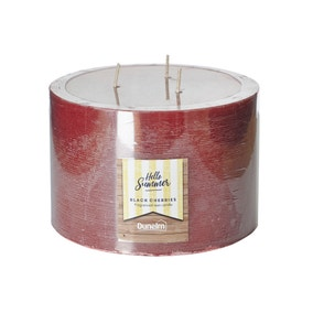 Black Cherries 3 Wick Candle