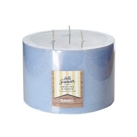 Sweet Pea and Freesia 3 Wick Candle