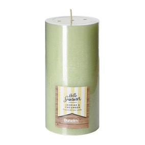 Jasmine and Cucumber Large Pillar Candle