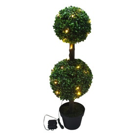 LED Green Topiary Tree