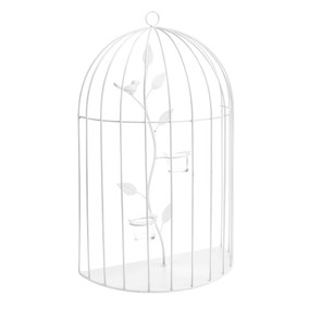 Bird Cage Wall Hanging with Tealight Holders