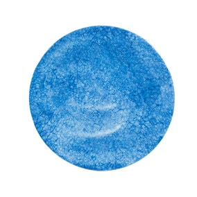 Blue Crackle Side Plate