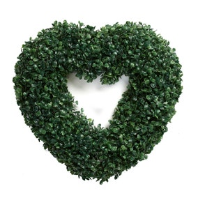 Light Up Topiary Heart