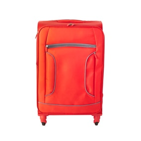 Lightweight Red 22 Inch Suitcase