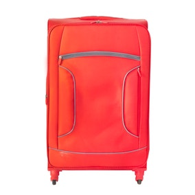 Lightweight Red 26 Inch Suitcase