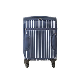 Lightweight Navy Stripe 18 Inch Cabin Case