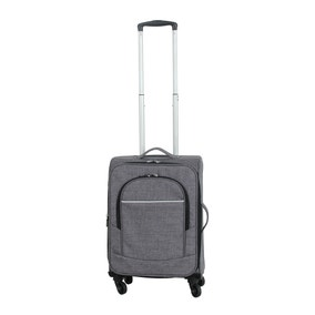 Two Tone Grey 18 Inch Suitcase