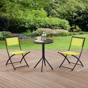 Oslo Lime 2 Seat Bistro Set