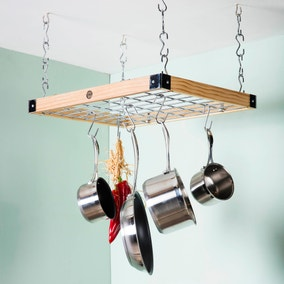 Hahn Classic Natural Square Ceiling Rack